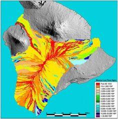Hawaiian Volcano Observatory Mauna Loa map