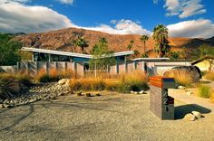 William Krisel - recently built at east of Monte Vista - Palm Springs - darren bradley