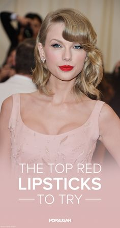 These are the red lipsticks you need to try ASAP!
