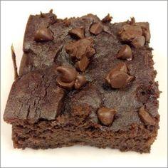 Gluten-Free & Dairy-Free #recipe: Sneaky Black Bean Avocado Brownies
