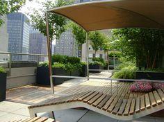 Rooftop Garden - contemporary - deck - new york - Greenblott Landscape Design