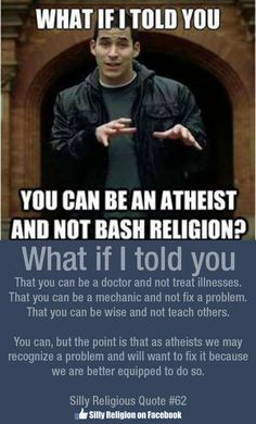 I don't see a good reason to always stay quite on the subject. I quite often see very good reasons to do the exact opposite. If this upsets some religious people then so be it, I will not stop calling their religion out on it's actions, history or claims.