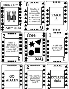 THE SELF-ESTEEM CARD GAME!  A Solution Focused Counseling (FUN) Intervention