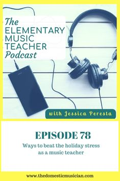 This time of year can feel so stressful.  You've got holiday parties, performances galore, and oh so many gifts to buy.  But, it's also possible to find joy in this season too.    In this episode, we'll discuss how even though this is the most overwhelming time of the year, it is possible to beat the holiday stress while still teaching music to your students.