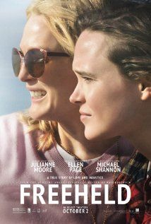 Freeheld (2015) Poster. New Jersey police lieutenant, Laurel Hester, and her registered domestic partner, Stacie Andree, both battle to secure Hester's pension benefits when she is diagnosed with terminal cancer.
