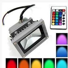 2X étanche IP65 projecteurs Led RGB 10 W lumière extérieure Led Spot Light Lamp…
