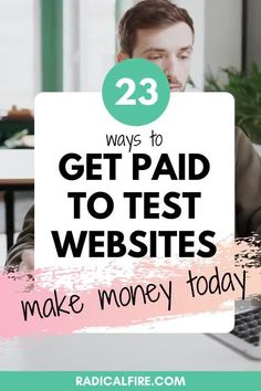 You don't have to be a computer genius to do this job! Getting paid to test websites and apps is like a different version of answering a survey for cash. What are you waiting for? Hurry and check out this websites. #extraincome #testwebsites