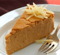 Pumpkin-Maple Crustless Cheesecake Recipe. Enjoy the warm flavors of pumpkin, maple, and ginger with this crustless cheesecake. Diabetic Gourmet Magazine. DiabeticGourmet.com
