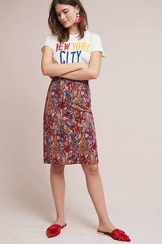 Maeve Golden Bliss Pencil Skirt #ad
