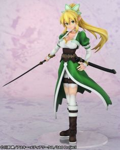 Sword Art Online Suguha Kirigaya Leafa 1/8 Complete Figure Anime Japan New