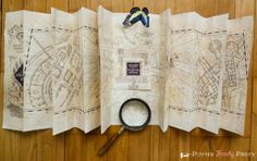 This is amazing (how to make a proper Marauder's Map), but sadly the links for the download doesn't seem to work at the moment so I'll keep my eyes on it