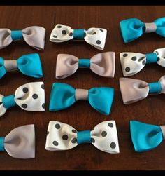 Check out this item in my Etsy shop https://www.etsy.com/listing/251904290/party-favor-bow-ties-set-of-12
