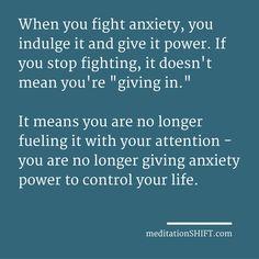 Can meditating help me overcome anxiety? — Mindful stuff. — Medium