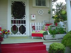 Porch Decorating Ideas For Summer | NEW SUMMER COLOR ON THE PORCH - Porche Designs - Decorating Ideas ...