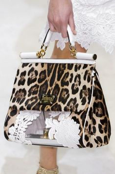 609bc33c82 Dolce  amp  Gabbana Bags Collection  amp  More Details Animal Print  Fashion