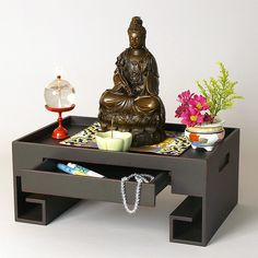 Ziji - Tabletop Altar or Tea Tray, $165.00 (http://www.ziji.com/products/meditation-supplies/altars-shrine-tables/tabletop-altar-or-tea-tray/)