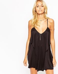 ASOS Layered Drape Jersey Beach Dress