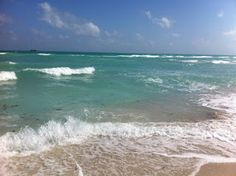 Turquoise waters... forever crashing on SoBe, Miami April 2012