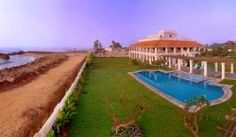 Panoramic view of the Dansborg Fort, The Bungalow on the Beach, Tranquebar
