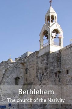 "The Church of the Nativity, in Bethlehem, is where, according to believe, Jesus was born (Click here to download our free pictorial eBook: ""A journey in the footsteps of Jesus"")"