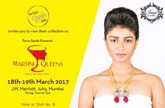 Purple Style Labs Invites You to view the collection of #Jnaya at Martini Queens #Fashion and #LifestyleExhibition on 18th – 19th March 2017 at JW Marriott Hotel Mumbai Juhu.  For Queries Contact @ 09811923456  #MartiniQueens #FashionExhibition #Lifestyle #Designer #Dresses #MumbaiExhibition