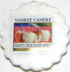 White Chocolate Apple* - US Summer 2015 - The incredible blend of two delicious treats . . . a juicy, just-picked apple with a crisp coating of luscious white chocolate.