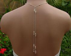 Bridal Lariat Necklace with Swarovski Pearls by handmadebydiana, $66.00