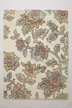 Anthropologie Distressed Vines Rug #anthrofave #anthropologie