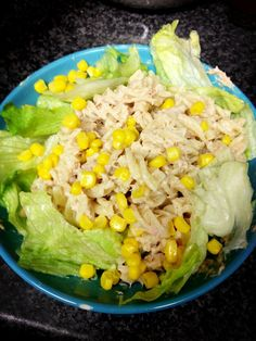 MADE IT: Tuna salad with corn!  Eat tuna like the Brits.  This is how I always make my tuna salad now since spending time abroad.