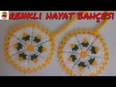 Crochet Videos, Crochet Gifts, Pot Holders, Crochet Earrings, Crochet Patterns, Lily, Youtube, Flowers, Tricot