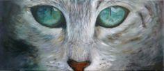 Cat eyes by Anita. Painting artist at Art Studio Moes