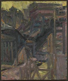 Frank Auerbach 'To the Studios', 1979–80 © Frank Auerbach