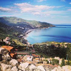 Taormina nel Sicilia