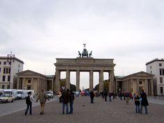 Brandenburg Gate wide shot Brandenburg Gate, Shots, Street View, World, The World, Earth
