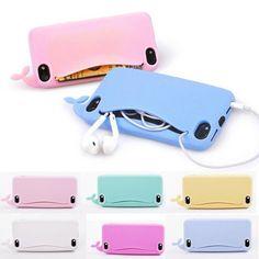Whale isn't this the cutest phone case ever?  #kawaii #cartoon #cute