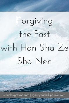 Forgiving the past with Hon Sha Ze Sho Nen. HSZSN Reiki symbol Reiki visualization Today let's talk about forgiveness. Allowing ourselves to move past what has hurt us and get on with our lives. You don't have to forget. Indeed, remember what happened to Reiki Meditation, Daily Meditation, Self Treatment, New Age, Was Ist Reiki, Chakras Reiki, Usui Reiki, Reiki Training, Spirituality