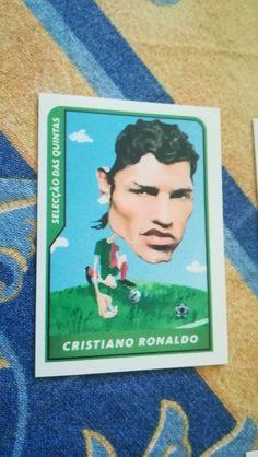 CRISTIANO RONALDO Portugal Real #122 World Cup Football Fan 2006 Luxor Serbia #ManchesterUnited