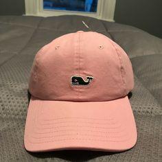 aba55150fb82b NEW Vineyard Vines Whale Logo Baseball Cap Hat- Adjustable Unisex- Flamingo  Pink  fashion