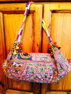 Pouch Bag, Pouches, Tribal Women, Hobo Bags, Mirror Work, Vintage Textiles, Big And Beautiful, Hand Stitching, Boho Chic