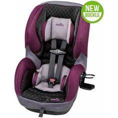 Evenflo SureRide DLX Convertible Car Seat Choose Your Color Purple