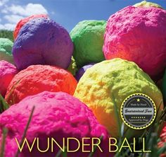 The WUNDERBALL. It bounces, floats, cleans your dog's teeth, and is virtually Indestructible. Fetch has never been this much fun and we guarantee You and Your Pup will agree. So get rid of the old smelly tennis balls and get your dog a WUNDERBALL today.    Made by Hand and approved by Dogs around the world, every WUNDERBALL has a unique shape which creates the WACKY bouncing action.    Made from 100% Natural Rubber this product is safe for your pet and safe for the planet.    * PROUDLY MADE…