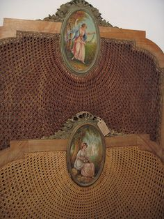 Antique headboards