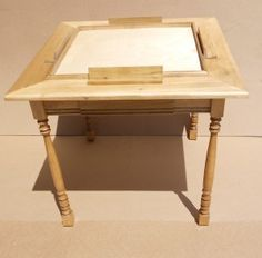 The Domino Table Is An Heirloom Quality Piece Of Furniture. The Pictured Domino  Table Is Made Of Poplar And Is Available In A Variety Of Wood U2026