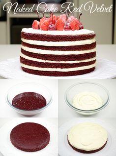 Naked Cake Red Velvet – Isamara Amâncio