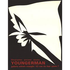 Jack youngerman- lithographs, engravings, drawings: poster for the youngerman exhibition titled lithographs, engravings, drawings which was held at galerie adrien. Poster, Engraving, Lithograph, Art, Art Print Display, Art Prints, Drawings, Lithography, Art Drawings