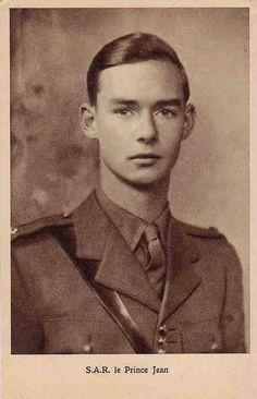 His Royal Highness Grand Duke Jean of Luxembourg, Duke of Nassau etc etc.