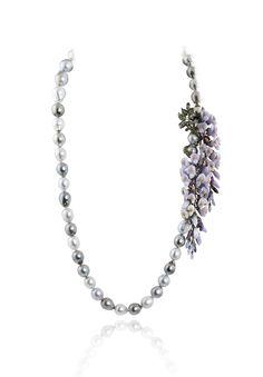 Glycine Neck. Colliers. Necklaces. #Colliers #Necklaces #Juwelen #Jewelry #LillyZeligman www.lillyzeligman.com