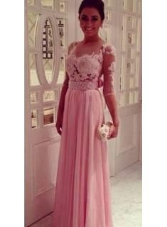 bridesmaids dresses peach with sleeves - Google Search