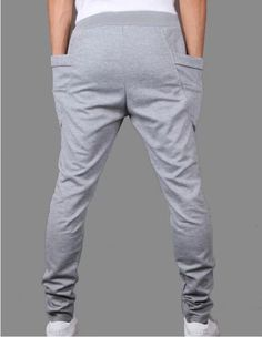 417f885f3f91 Mens Skinny TRACK PANTS Slim Cuff Trousers Gym Slacks Plain Sport Tracksuit  Pant