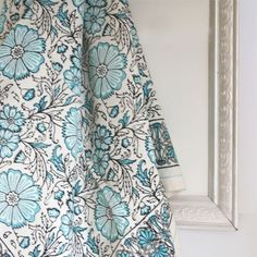 Tablecloth in Sky Blue, $59.00